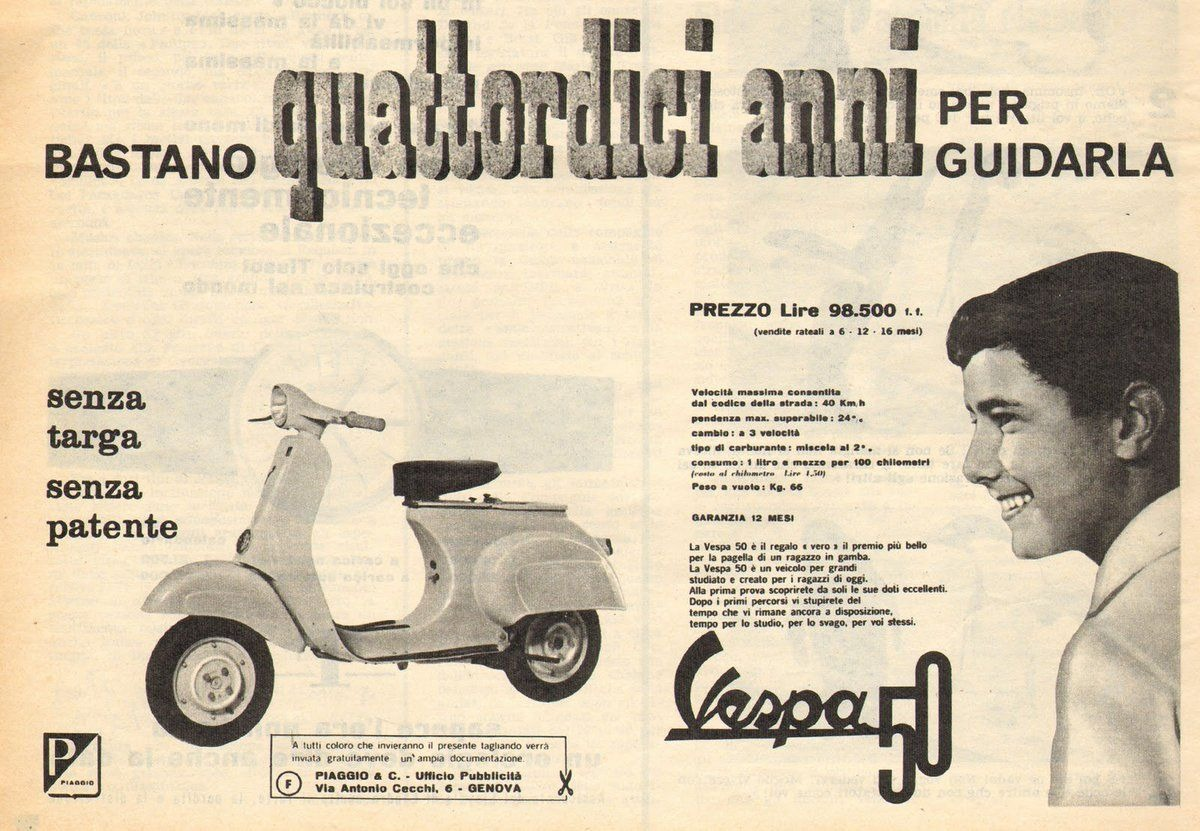 "Advertising negli anni 60', un'atmosfera ""scoppiettante""."